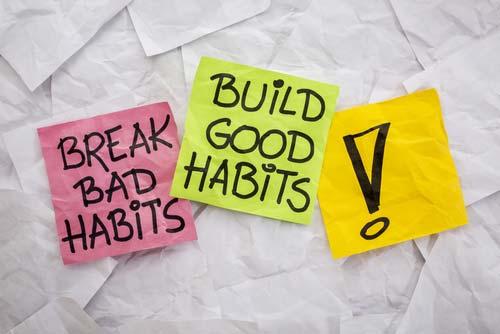 4 keys to habits   Arana Hills Physiotherapy